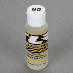 Silicone Shock Oil, 80wt, 2 Oz