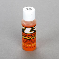 TLR Silicone Shock Oil, 35wt, 2 Oz
