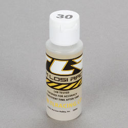 TLR Silicone Shock Oil, 30wt, 2oz