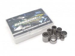 Boom Racing High Performance Full Ball Bearings Set Rubber Sealed (24 Total) for Vaterra K5 Blazer Ascender