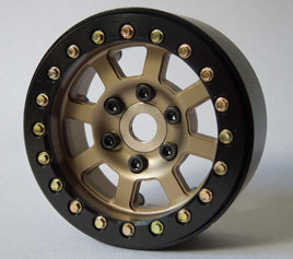 "SSD RC 1.9"" ASSASSIN WHEELS (BRONZE) (2)"