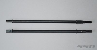 CENTERED REAR AXLE SHAFTS FOR AXIAL WRAITH