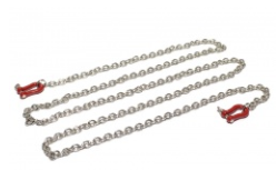 Team Raffee Co. Scale Accessories - Chain w/ Hook Red
