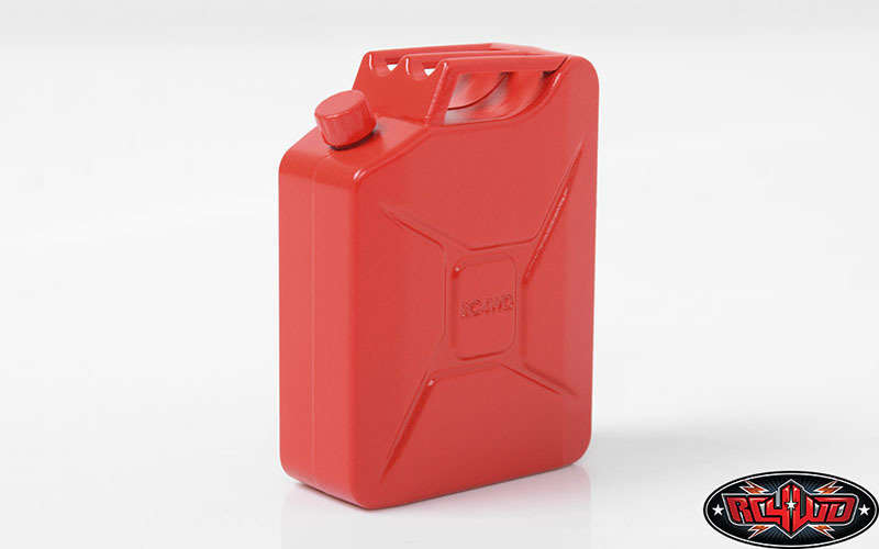SCALE GARAGE SERIES 1/10 UNLEADED FUEL JERRY CAN