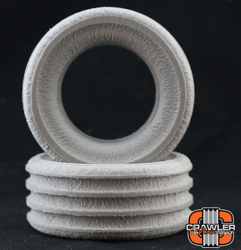 """DEUCE'S WILD SINGLE STAGE FOR 1.55 TIRES; 3.40"""" - 3.60"""" TALL FOAM PAIR (2)"""