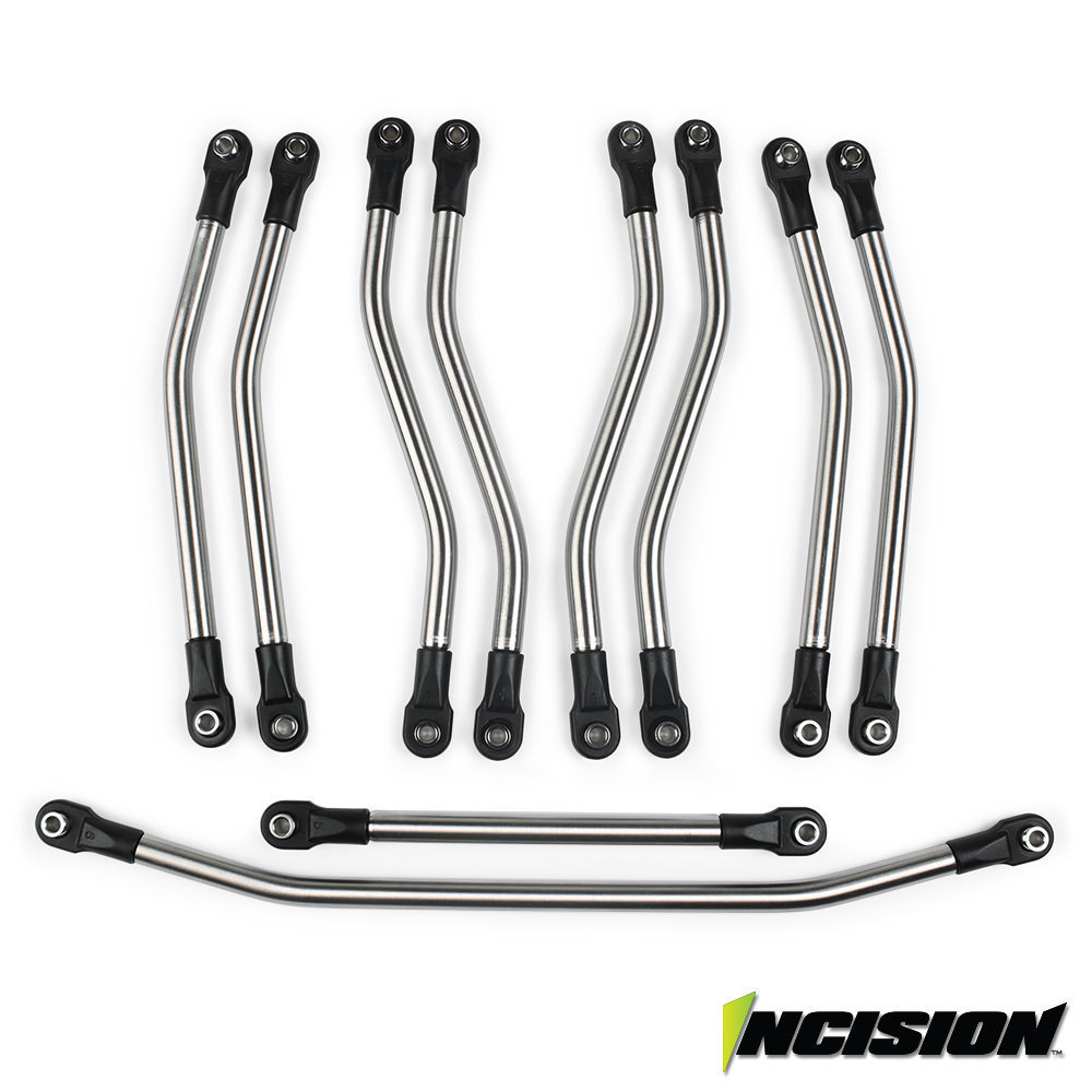 INCISION WRAITH 1/4 STAINLESS STEEL 10PC LINK KIT