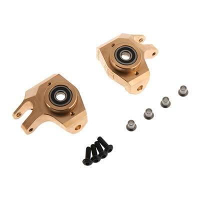 Hot Racing Brass Heavy Metal HD Bearing Front Knuckle