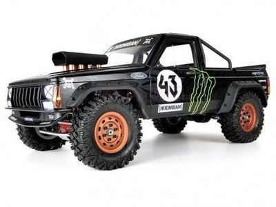 Team Raffee Co. Comanche 1/10 Pickup Truck Hard Plastic Body Kit Set 313mm
