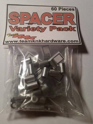 Team KnK Hardware Aluminum Spacer Variety Pack