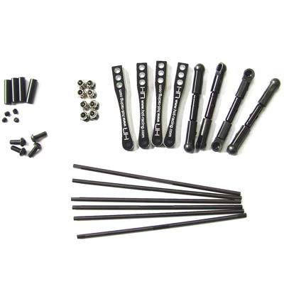 Hot Racing Full Set Sway Bar Kit for Wraith