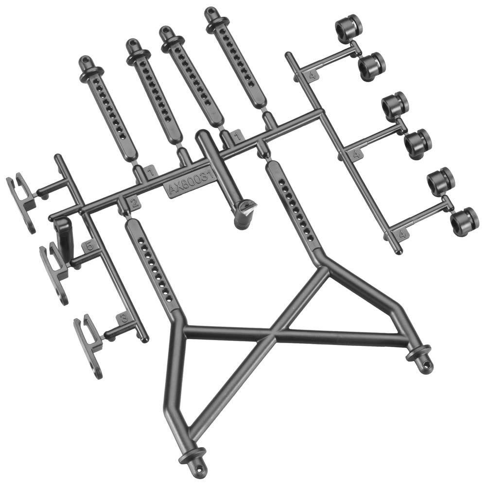 Axial Body Mounts Parts Tree