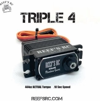 Reef's RC Triple 4 servo