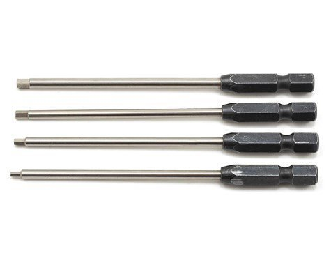 "ProTek RC ""TruTorque"" Metric Power Tool Tip Set (4) (1.5, 2.0, 2.5, 3.0mm)"
