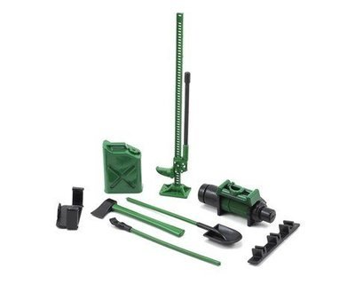 Yeah Racing 6-Piece Scale Tool Set (Green)