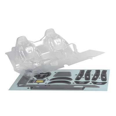 Axial Racing Interior Set .040 Clear RR10