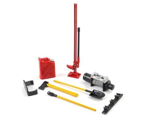 Yeah Racing 6-Piece Scale Tool Set (Red)