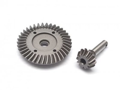 Boom Racing Heavy Duty Bevel Helical Gear Set - 38T/13T For All 1/10 Axial Trucks