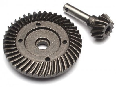 Boom Racing Heavy Duty Bevel Helical Gear Set - 43T/13T For All 1/10 Axial Trucks