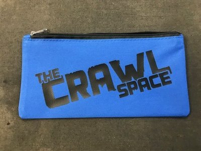 Blue Tool Pouch Black Logo