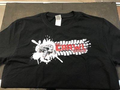 Crawl Space Splatter Crawler Shirt, Black 2XL