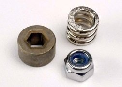 Traxxas Slipper tension spring/ spur gear bushing & locknut