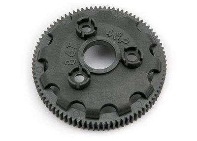 Spur gear, 86-tooth (48-pitch) (for models with Torque-Control slipper clutch)