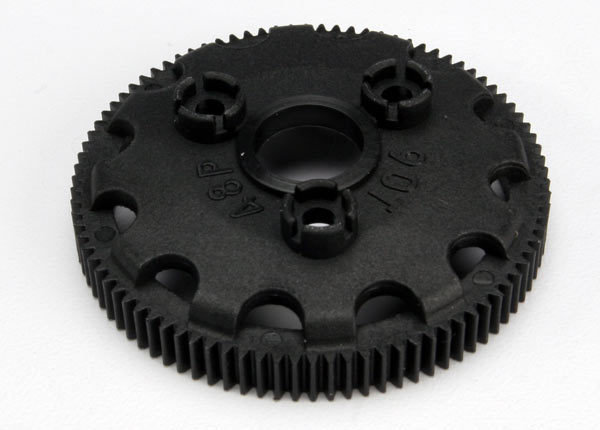 Spur gear, 90-tooth (48-pitch) (for models with Torque-Control slipper clutch)
