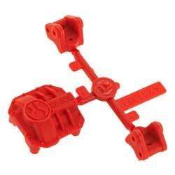 Axial Racing AR44 Diff Cover & Link Mounts Red