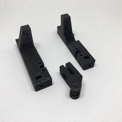 Comp Spec servo/winch mount with pan hard