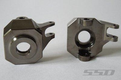 SSD RC SCX10 II AR44 Heavy Brass Steering Knuckles