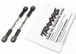 Traxxas  Turnbuckles, toe link, 55mm (75mm center to center) (2)