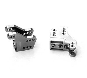CNC Machined Aluminum Lower Shock Mount, Axial RR10 Bomber/Wraith, 1 pair