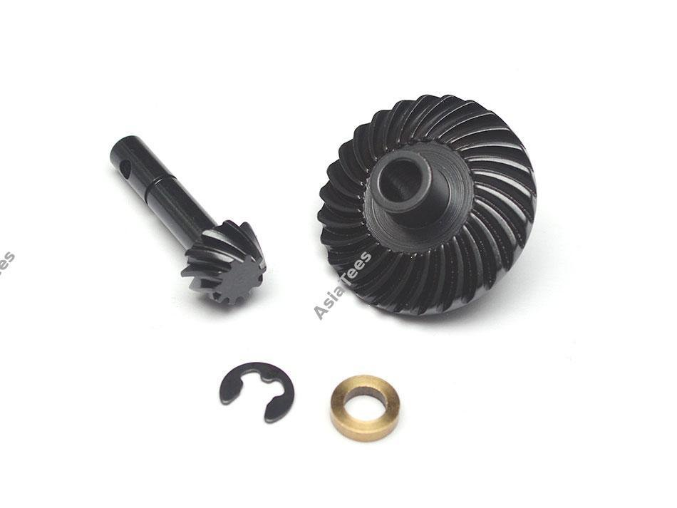 Boom Racing Heavy Duty Bevel Helical Gear Set 27T/10T for Scale PHAT Axle Defender D90/D110