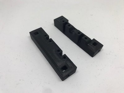 Comp Spec servo/winch mount vertical