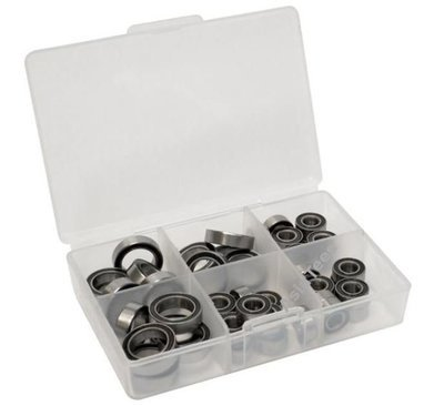 Boom Racing High Performance Full Ball Bearings Set Rubber Sealed (35 Total) - for RC4WD Trail Finder 2