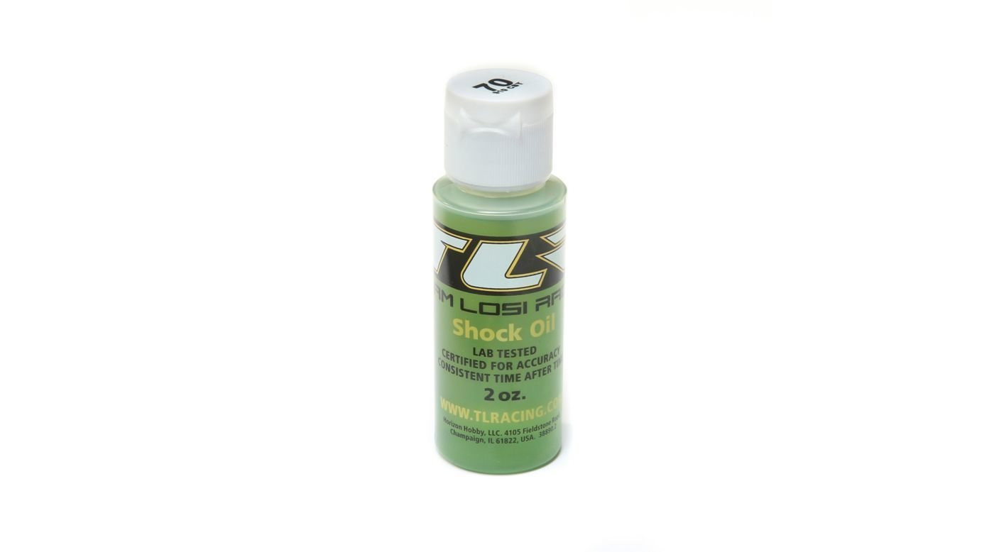 TLR Silicone Shock Oil, 70wt, 2oz
