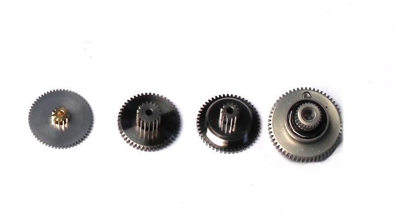 SGSV1270TG - Servo Gear Set with Bearings, for SV1270TG