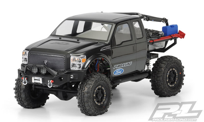 Pro-Line Ford F-250 Super-Duty Cab Body SCX10 Trail Honcho