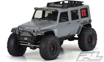 Pro-Line Jeep Wrangler Unlimited Rubicon Clear Body