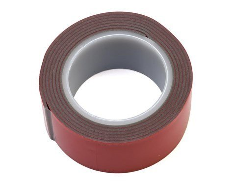 "ProTek RC Grey High Tack Double Sided Tape Roll (1x40"")"
