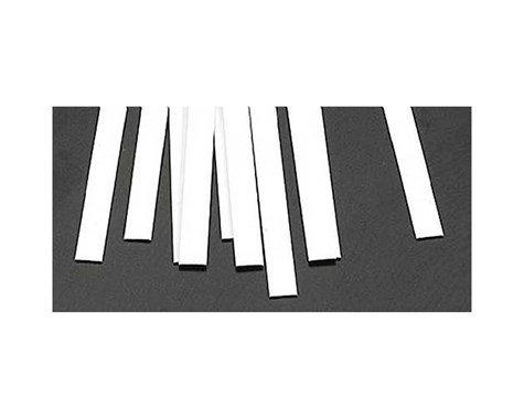 Plastruct MS-325 Rect Strip, Styrene .030x.250 (10)