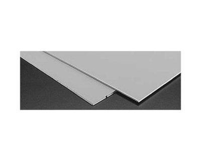 Plastruct SSA-108 Gray ABS, Styrene .080 (2)