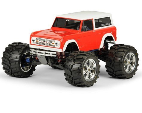 Pro-Line '73 Ford Bronco CGR Clear Body Only