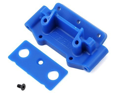 RPM Traxxas 2WD Front Bulkhead (Blue)