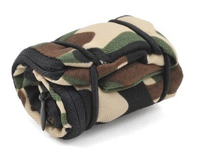 Yeah Racing 1/10 Crawler Scale Camping Accessory (Camouflage Sleeping Bag)