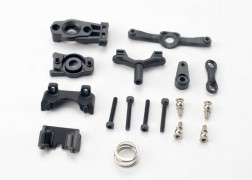 Traxxas Steering arm (upper & lower)/ steering link/ servo horn/ servo saver/ servo saver spring/ servo horn mount/ ball stud (2)/ shock mounts, front & rear/ 2.5x18mm CS (4)