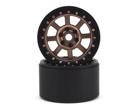 "SSD RC 2.2"" Wide Assassin Beadlock Wheels (Bronze) (2)"