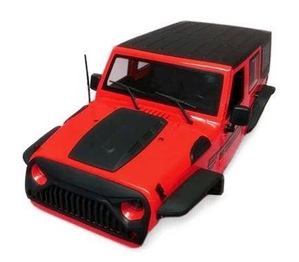 Xtra Speed Jeep Wrangler Hard Plastic Body Kit (313mm)