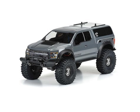 Pro-Line 2017 Ford F-150 Raptor Body (Clear) (TRX-4)