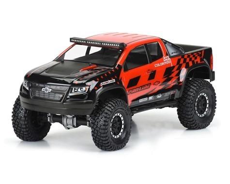 "Pro-Line Chevy Colorado ZR2 12.3"" Rock Crawler Body (Clear) (SCX10)"